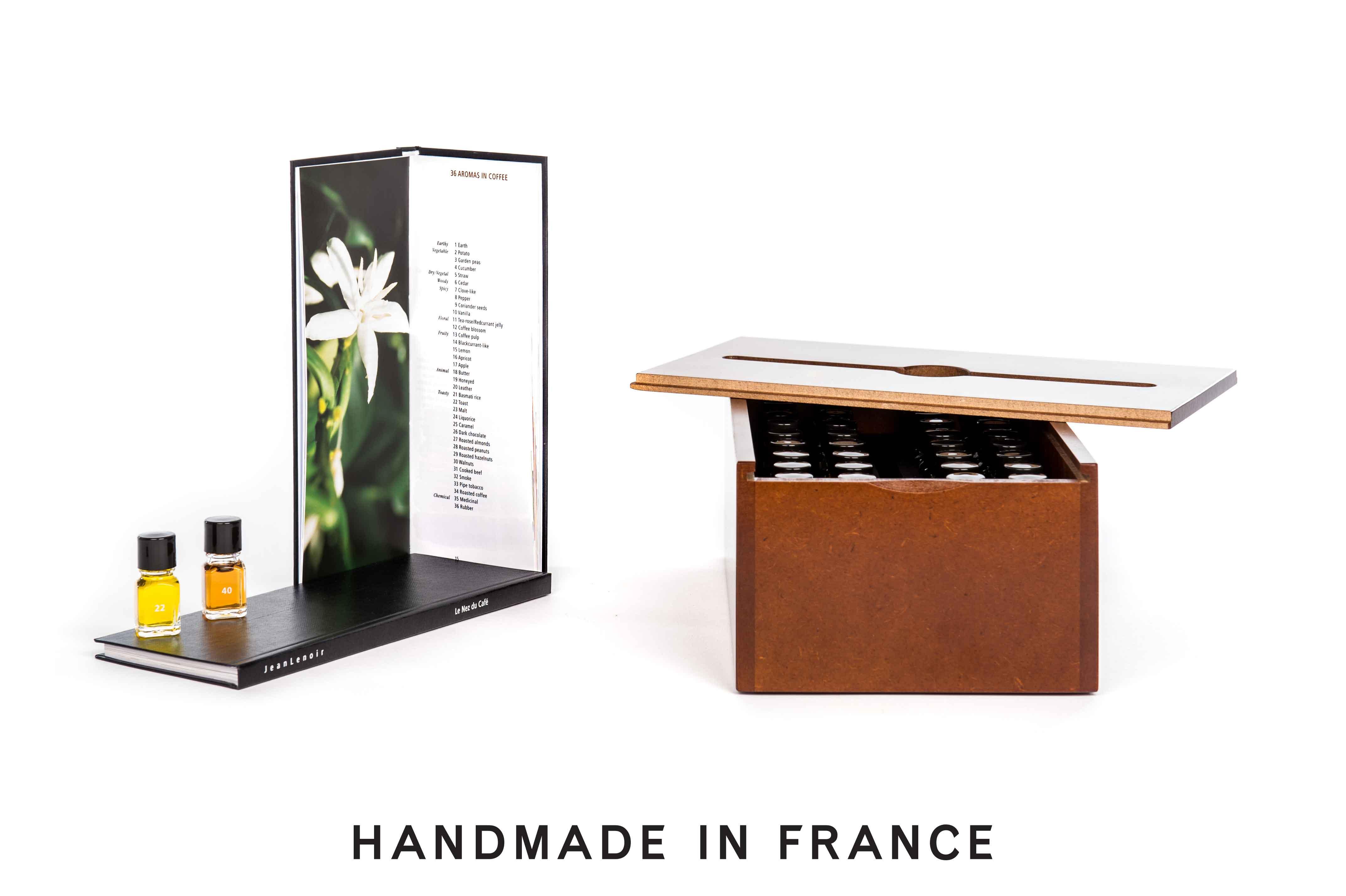 Le Nez du Café Revelation 36 aromas Editions Jean Lenoir